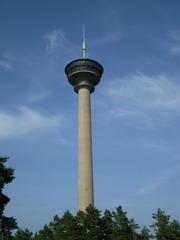 Tampere - Landeskunde Finnland, Näsineula, Särkänniemi, Turm, Aussichtsturm