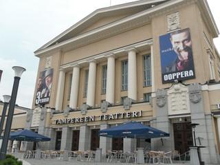 Tampere - theater, teatteri, Landeskunde Finnland, Sehenswürdigkeit, Freizeit