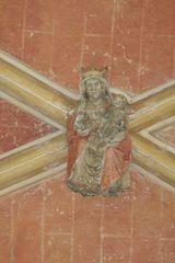 Madonna mit dem Jesuskind - Christentum, Kloster, Schlussstein, Gewölbe, Madonna, Jesus