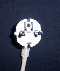 Schutzkontaktstecker #2 - Schutzkontaktstecker, Stecker, Strom, Elektrizität, SchuKo