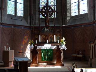 Altarraum #1 - Altar, Altarraum, Innenraum Kirche