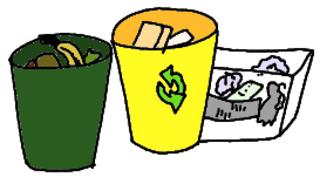 Mülltrennung - Müll, Abfall, Mülltrennung, Klassendienste, Ämterplan