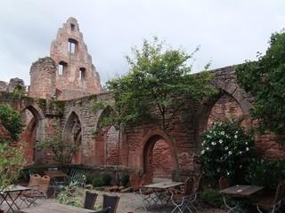 Klosterruine Limburg - Kloster, Ruine, Deutschland, Pfalz, Architektur, Mittealalter, Sandstein, Romanik