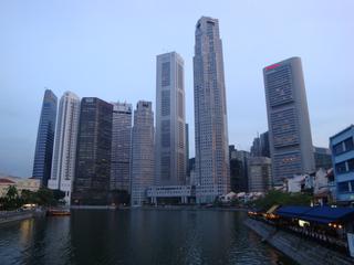 Singapore_Bankenviertel_1 - Geografie, Länder, Metropolen, Südostasien, Stadtstaaten, Singapore, Singapur