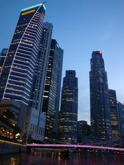 Singapore_Bankenviertel_2 - Geografie, Länder, Metropolen, Südostasien, Stadtstaaten, Singapore, Singapur