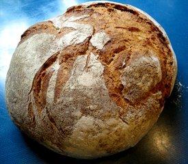 Krustenbrot - Brot, essen, Brotlaib, Kruste, backen, Bäcker