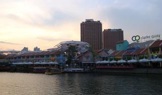 Singapore_Clarke Quay - Geografie, Länder, Metropolen, Südostasien, Stadtstaaten, Singapore, Singapur, Hafen, Singapore River, Clarke Quay