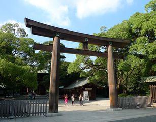 Meiji-Schrein #2 - Meiji-jingu, Meiji, Shintoismus, Tempel, Schrein