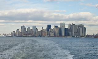 New York Skyline Manhattan - USA, New York, Wolkenkratzer, Manhattan, Skyline, Bauwerke, Bauwerke, Panorama