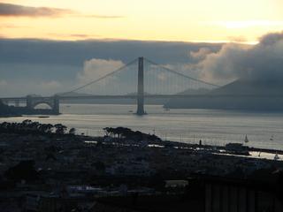 Golden Gate Bridge - USA, San Francisco, Golden Gate Bridge, Wahrzeichen