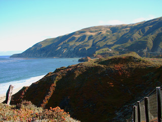 Pazifikküste #1 - Pazifik, Küste, Meer, blau, Steilküste, Highway 1, USA, Kalifornien
