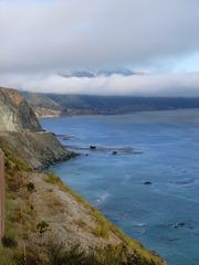 Pazifikküste #2 - Pazifik, Küste, Meer, blau, Steilküste, Highway 1, USA, Kalifornien, Wolken, Küstennebel