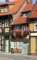 Wernigerode Kleinstes Haus - Wernigerode, Fachwerkhaus, klein, Kulturdenkmal