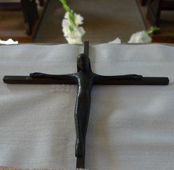 Jesus Christus - Jesus, Christus, Kreuz, Plastik, Kruzifix, Religion, Symbol, Kreuzigung, Christentum, INRI