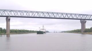 Nord-Ostsee-Kanal_2 - Geografie, Nordsee, Ostsee, Nord-Ostsee-Kanal, Schifffahrt, Transportwesen, Wasserstraßen