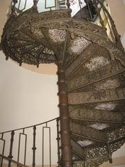 Wendeltreppe  - Treppe, Wendeltreppe, Treppenform, Stützpfeiler, Spindeltreppe, Stufen, Treppenstufen, Geländer