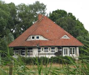 Das Karusel auf Hiddensee - Bauwerk, Sehenswürdigkeit, Haus, Asta Nielsen