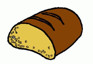 Brot - Brot, Bäcker, backen, vespern, Vesper, Anlaut B