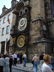 Prag - Prag, Rathaus, Uhr, Rathausuhr, astronomisch, Astronomische Uhr
