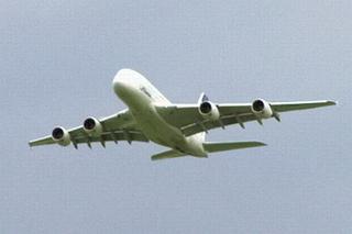 Flugzeug_fliegend#1 - Flugzeug, Transport, Transportmittel, Verkehr, Verkehrsmittel, fliegen, reisen, transportieren