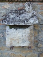 Etruskisches Grabmal - Toskana, Estrusker, Volterra, Antike, Ausgrabungen, Ruinen, Italien