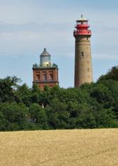 Alter und neuer Leuchtturm am Kap Arkona (Rügen) - Leuchtturm, Ostsee, Rügen