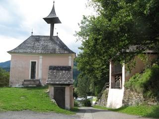 Geteilte Kirche #1 - Kirche, teilen, geteilt, Gmünd, Kärnten