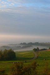 Morgennebel - Wolken, Wetter, Niederschlag, Nebel