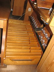 Orgel Pedal #1 - Orgel, Kirchenorgel, Tastatur, Register, Pedal, Kirche