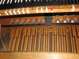 Orgel Pedal #2 - Orgel, Kirchenorgel, Tastatur, Register, Kirche