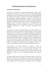 Referat: Rechtschreibunterricht und Schuldruckerei