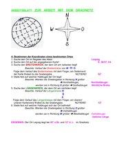 Merkblatt zum Gradnetz