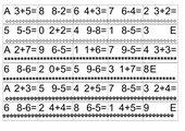Dominos plus und minus ZR10 und ZR20