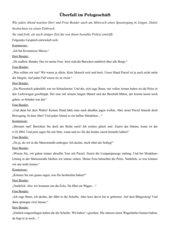 Aufsatz Bericht-Text Hörspiel