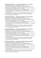 Bruchrechnung: Textaufgaben bei der Einführung