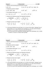 Binomische Formeln, Bruchterme