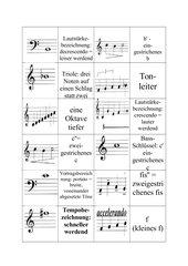 Domino musikalischer Zeichen 2
