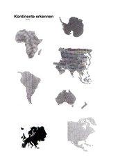 Kontinente erkennen