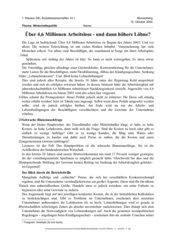 Klausur Sozialwissenschaften GK 12 - Wirtschaftspolitik - Arbeitslosigkeit