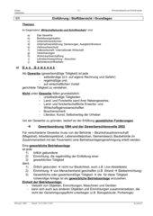 Gewerbeordnung allgemeine Übersicht
