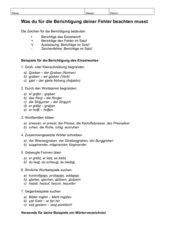 Anleitung zur Diktatberichtigung