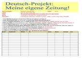 Deutsch-Sozialkunde-Projekt