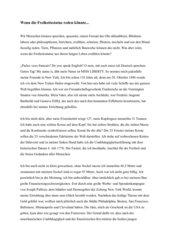 Die Freiheitsstatue. Eine Kurzgeschichte aus der Ich-Perspektive