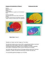 Umgang mit Kunstwerken/ Klasse 2