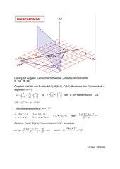 Dreiecksfläche