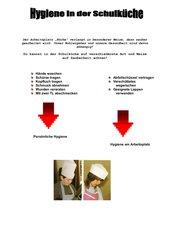 Unterrichtsmaterialien: HsB - Hygiene in der Schulküche