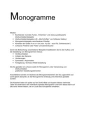 Monogramme selbst gestalten