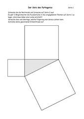 Beweis Satz des Pythagoras