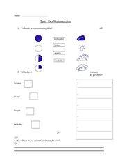 Test Wetterzeichen Kl.2
