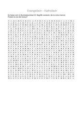 Buchstabenrätsel Thema